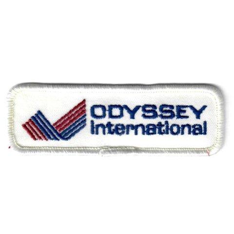 """Patch Odyssey international 4"""" x 1 1/4"""""""
