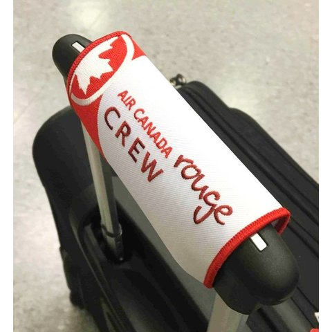 Luggage Handle Wrap Air Canada Rouge Crew