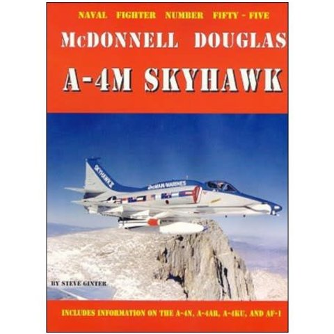McDonnell Douglas A4M Skyhawk II USMC: Naval Fighters #55 softcover