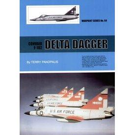 Warpaint Convair F102 Delta Dagger: Warpaint #64 softcover
