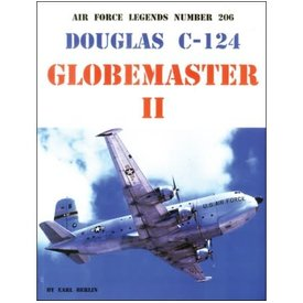 Ginter Books Douglas C124 Globemaster II: Air Force Legends AFL #206 softcover