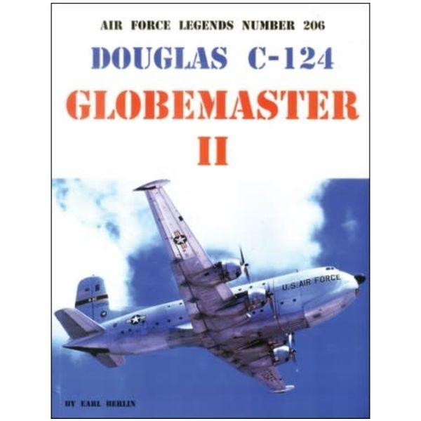 Ginter Books Douglas C124 Globemaster II: Air Force Legends AFL #206 softcover