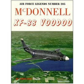 Ginter Books McDonnell XF88 Voodoo: Air Force Legends AFL #205 softcover