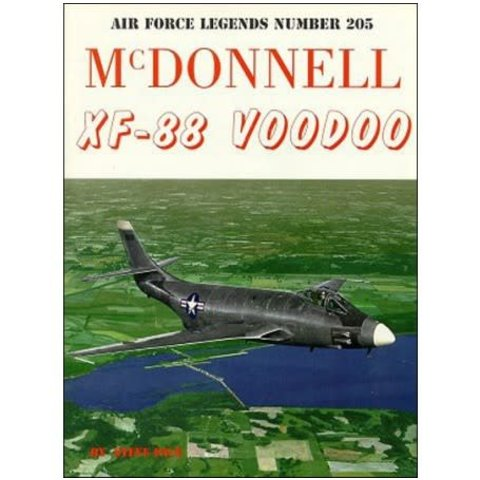 McDonnell XF88 Voodoo: Air Force Legends AFL #205 softcover