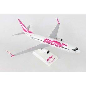 SkyMarks B737-800W 1:130 Swoop (WestJet LCC) with stand