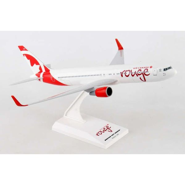 SkyMarks B767-300W Air Canada Rouge 1:200 with stand (no gear)