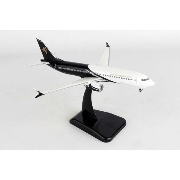 Hogan B737 MAX8 Boeing Business Jet BBJ 1:200 With Gear + stand