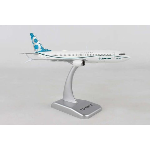B737 MAX8 Boeing House N8703J 1:200 with gear