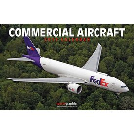 Sparta Commercial Aircraft Calendar 2019