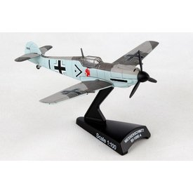 Postage Stamp Models BF109 Luftwaffe Adolf Galland 1:87 with stand
