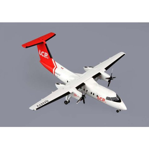Dash8-200 LC Peru N454YV 1:200 with stand