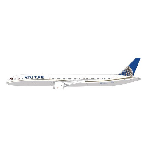 B787-10 Dreamliner United 2010 livery N87891 1:200 wth stand*NEW MOULD*
