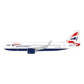 Gemini Jets A320neo British Airways G-TTNA 1:200 with stand
