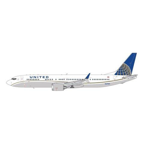 B737 MAX9 United 2010 livery N67051 1:400