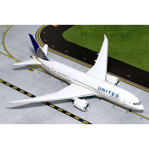 B787-8 Dreamliner United 2010 livery N27901 1:200 with stand
