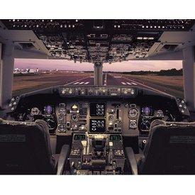 Poster B767 Flight Deck
