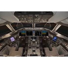 Poster B787 Flight Deck