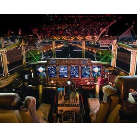 POSTER C130J FLIGHT DECK