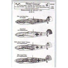 THIRD BF109E3 II/JG51