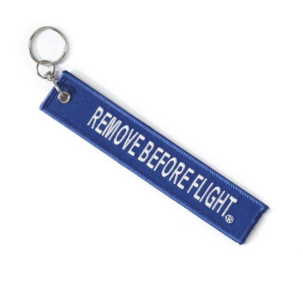 Boeing Store Boeing Remove Before Flight Keychain