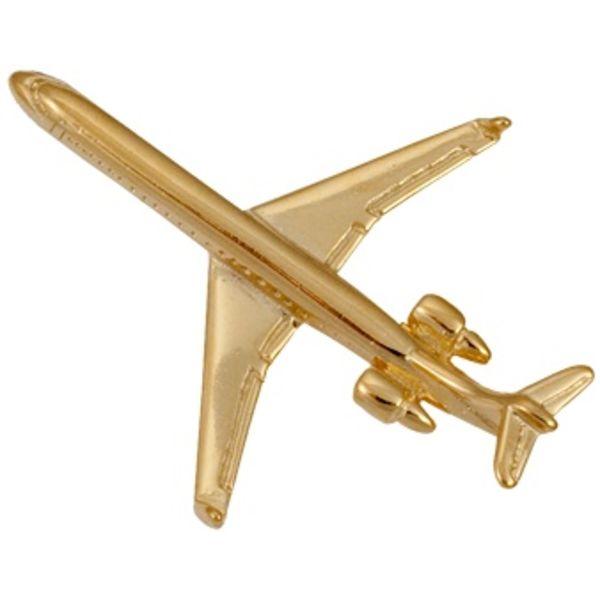 Pin CRJ900 (3-D cast) Gold Plate