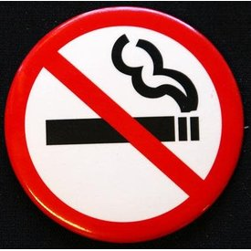 Magnet No Smoking Sign