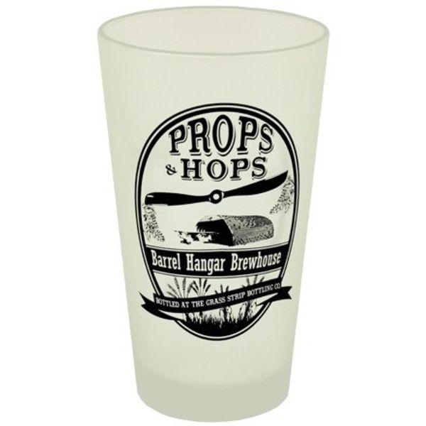 Props & Hops Pint Glass