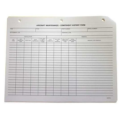 Aircraft Technical Log Section 5 Component