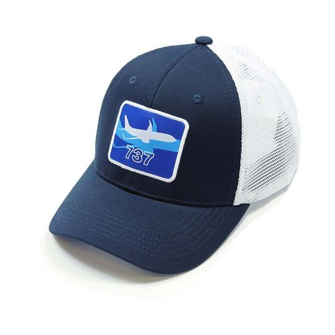 737 Shadow Graphic Hat