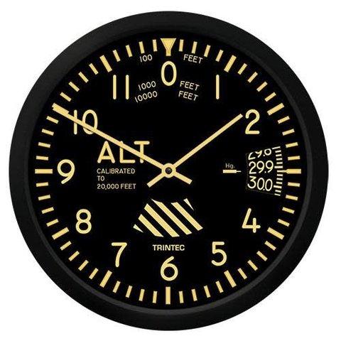 Vintage Altimeter Clock