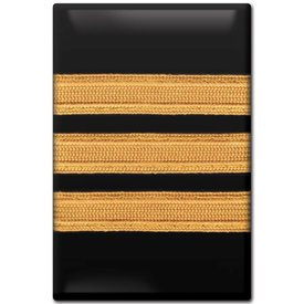 Magnet First Officer Stripes