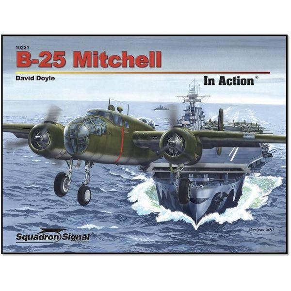Squadron B25 Mitchell: In Action #221 softcover