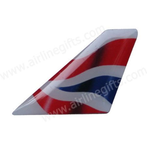 PIN BRITISH AIRWAYS NC TAIL