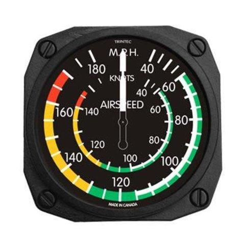 Classic Airspeed Indicator Fridge Magnet