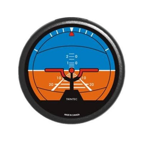 Classic Round Artificial Horizon Fridge Magnet