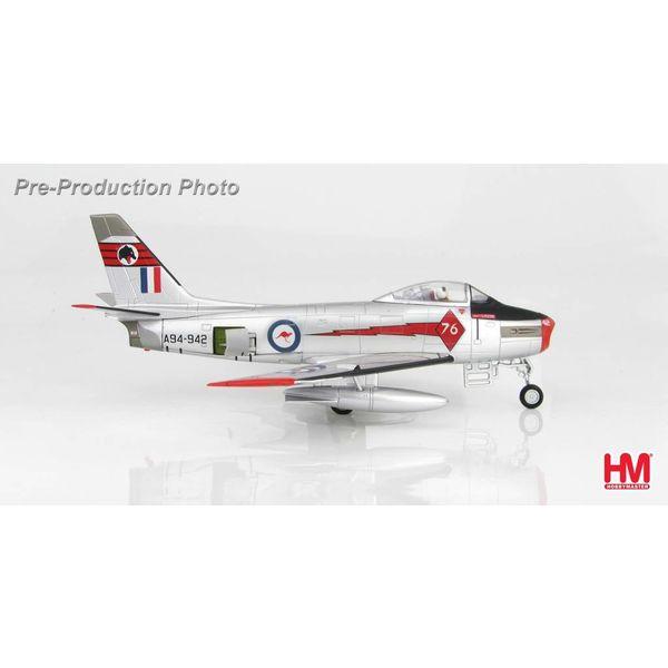Hobby Master CAC Sabre Mk31 RAAF Red Diamonds 1962 1:72