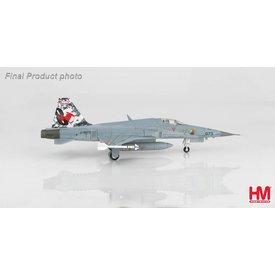 Hobby Master F5E Tiger II Swiss Air Force Staffel 8 (Fish) 2017 1:72
