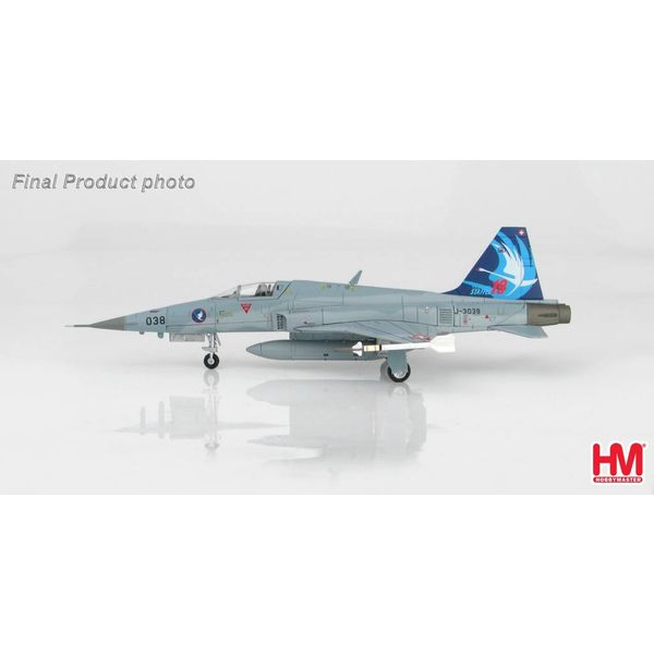 Hobby Master F5E Tiger II Swiss Air Force Staffel 19 75 Jahre 2017 1:72