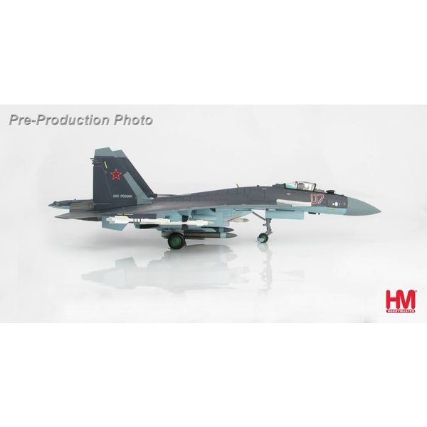 Hobby Master SU35 Flanker E RED07 Russian Air Force 2013 1:72