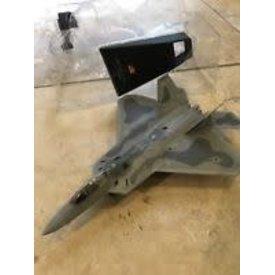 MotorMax MOTRMAX F22 RAPTOR 1:100 SCALE DIECAST