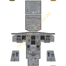 Aviation Training Graphics Cockpit Training Poster A319/320/321