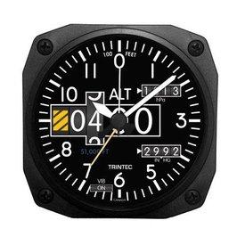 Trintec Industries Modern Altimeter Alarm Clock