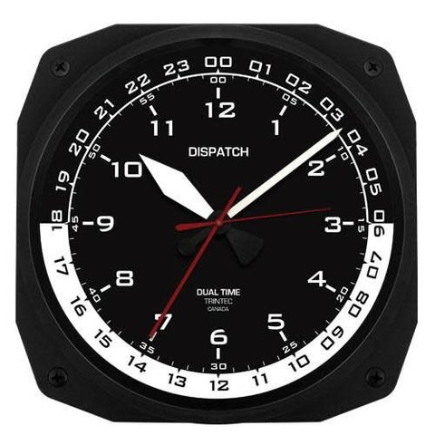 Dispatch Instrument Style Wall Clock