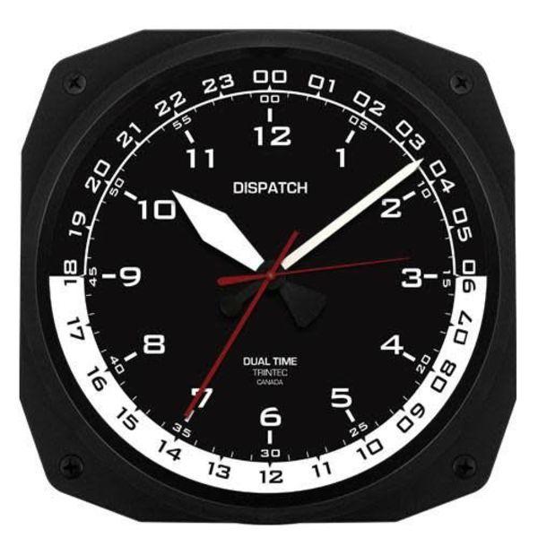 Trintec Industries Dispatch Instrument Style Clock