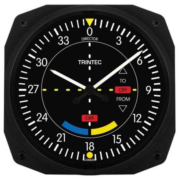 Trintec Industries Classic VOR Instrument Style Clock