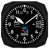 "Cessna 10"" Altimeter Instrument Style Clock"