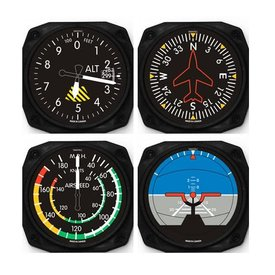 Trintec Industries Classic Instrument Coasters 4 piece set