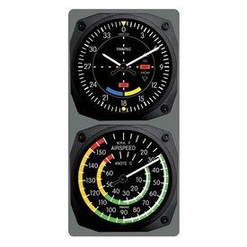 Trintec Industries TRINTEC VOR CLOCK/AIRSPEED THERMOMETER 6.5