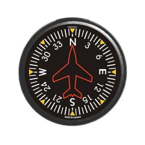 Classic Round Directional Gyro Fridge Magnet