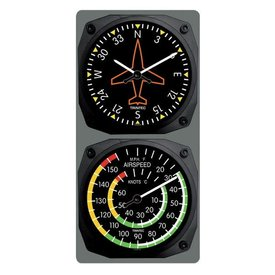Trintec Industries Classic Directional Gyro/Airspeed